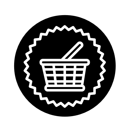 identifies shopping basket icon